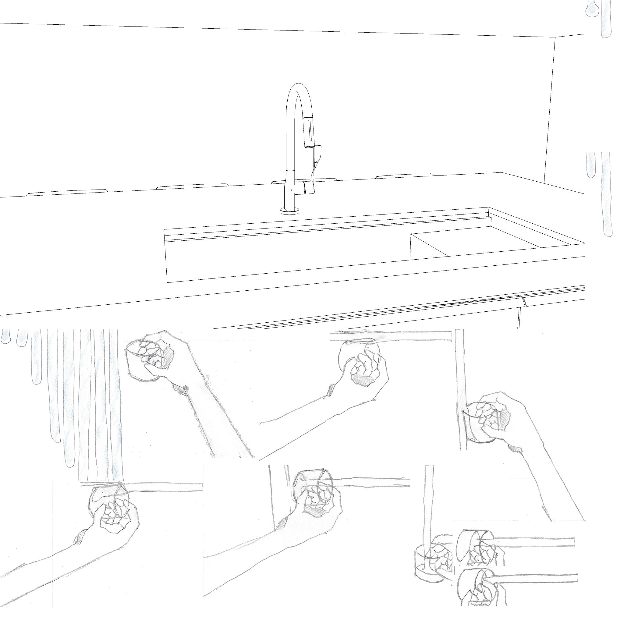 prison-cell-kitchen-no-door