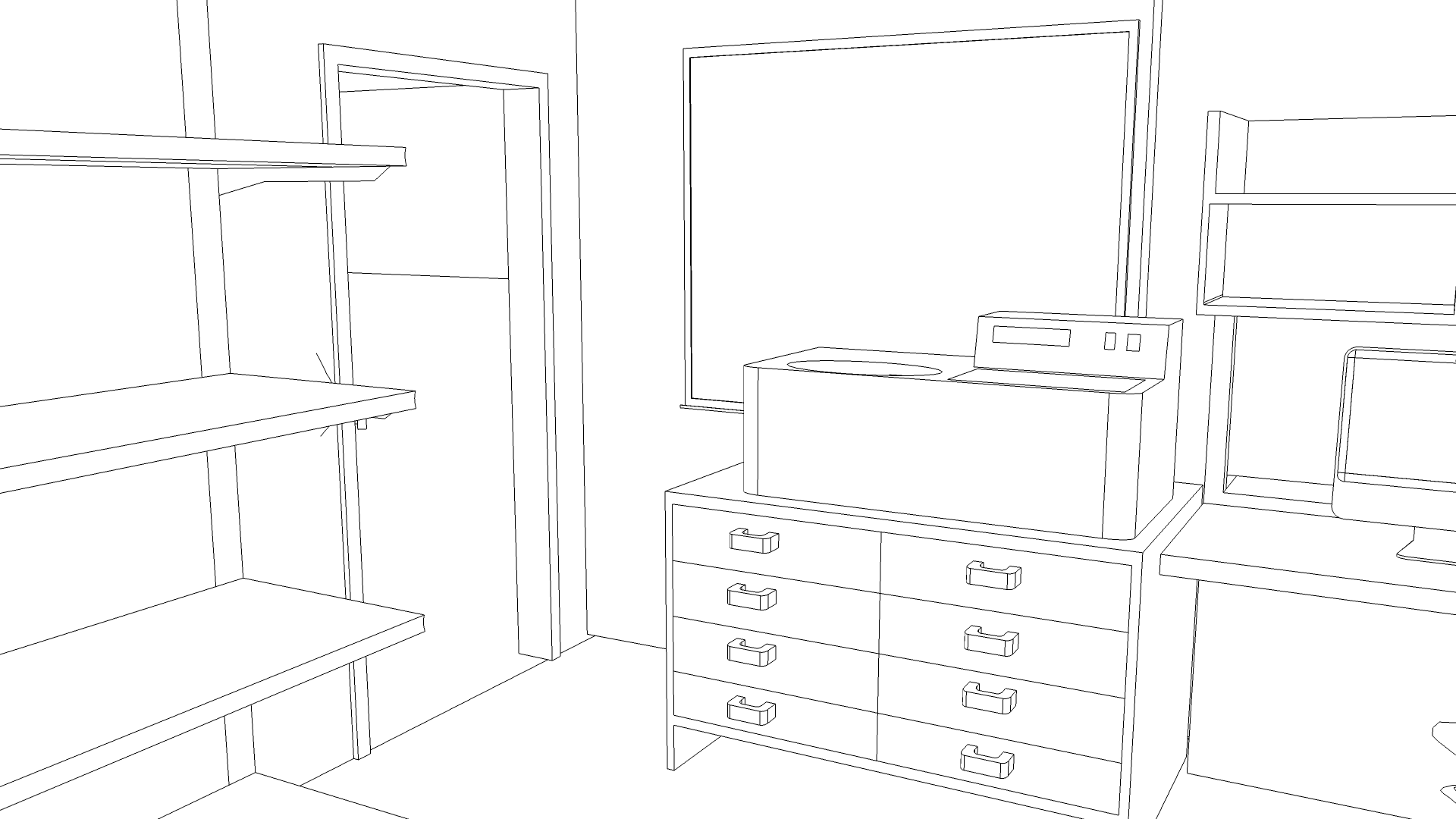 lab-door